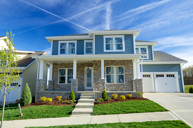 The American Dream Home New Marshall Township Community